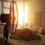 فوائد وعواقب النوم أمام المروحة
