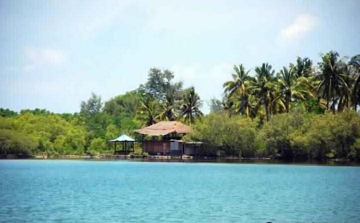 بحيرة جيلي مينو المالحة وغابة