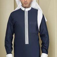 e22034d1b2b88 تصاميم غاية في الأناقة للثوب السعودي