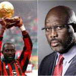 جورج ويا من افضل لاعب في العالم الى رئاسة دولة ليبيريا