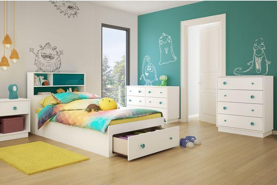 دهان غرفة اطفال فيروزي المرسال