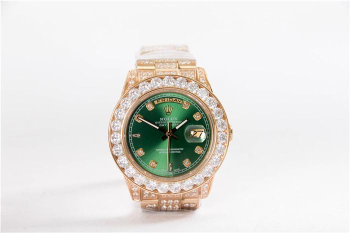 668d45b38 ساعة الماس اخضر   المرسال