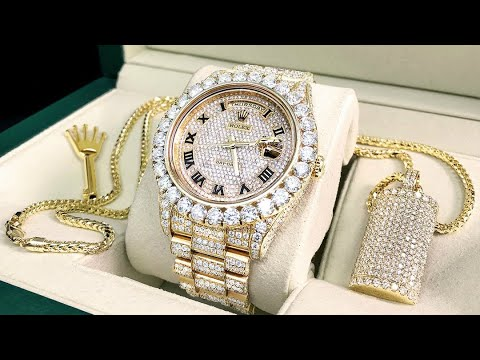 ffa0fd608 ساعة الماس روليكس   المرسال