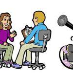 طريقة اجراء مقابلة صحفية مع مديرة المدرسة