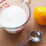فوائد مشروب الليمون على الحليب
