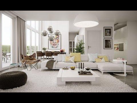 غرفة المعيشة الهادئة لعام 2019 غرفة-معيشة-حديثة-ابي