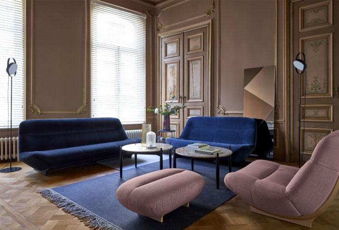 غرفة المعيشة الهادئة لعام 2019 غرفة-معيشة-حديثة-ازر
