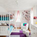 غرف متعددة الأسرة للأولاد الصغار
