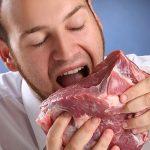 العلاقة بين مرض أكل اللحم وتغير المناخ