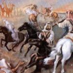 معركة روضة مهنا بقيادة المؤسس عبدالعزيز آل سعود
