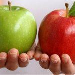 """ماهو الافضل جودة و فائدة """" التفاح الامريكي """" او الفرنسي او التركي"""