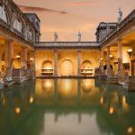تاريخ الحمامات الرومانية