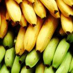 فوائد الموز حسب لونه و نضجه