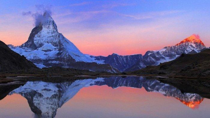 ماهي الدول التي تمر بها جبال الالب المرسال
