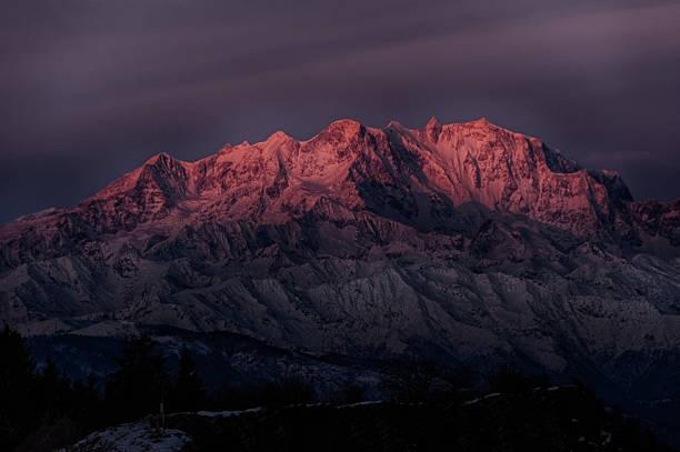 نتيجة بحث الصور عن جبل مونتي روزا