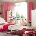 غرف نوم بنات على الطراز الكوري
