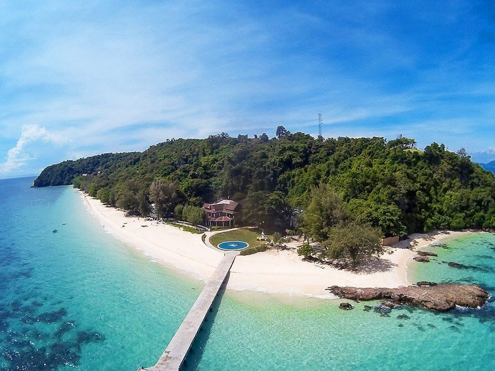 منتجعات مذهلة على جزر تايلاند فيلا-مايتون-الشاطئية