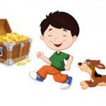 قصة الكنز والكلب الوفي للاطفال
