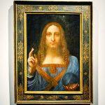 حقيقة اختفاء لوحة سلفاتور موندي لدافنشي