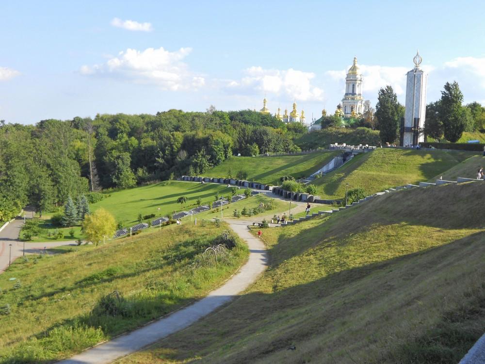 أشهر المعالم السياحية كييف أوكرانيا منتزه-إترن�