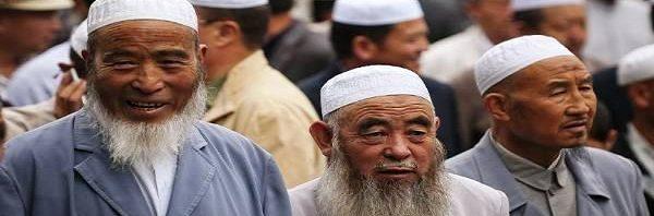 شعب الإيجور المسلمين في الصين -600x198