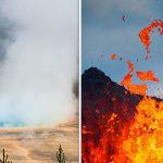 """بركان امريكا العظيم """" بركان يلوستون """""""