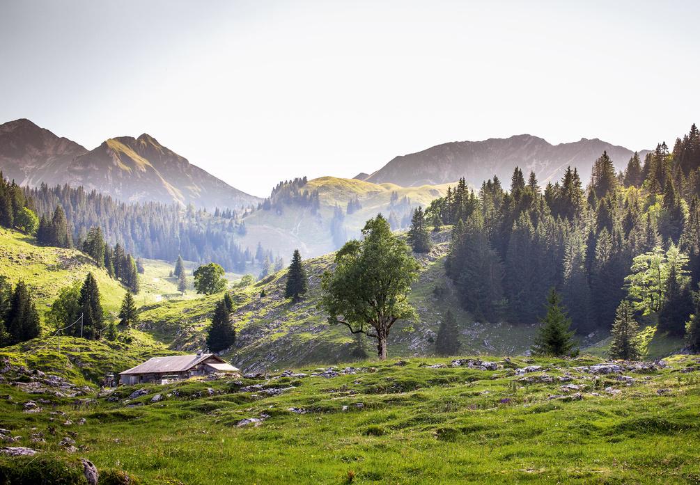 صور عشرة أماكن رومانسية للغاية في سويسرا
