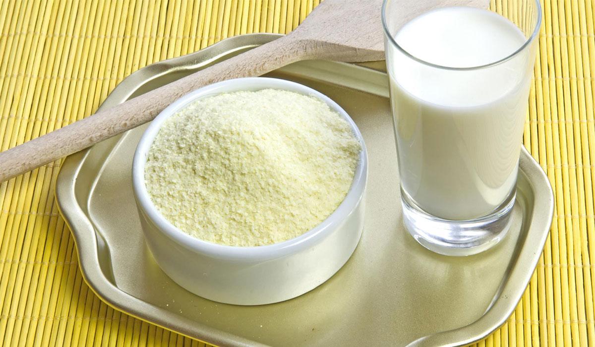 تأثير الحليب المجفف على زيادة الوزن المرسال