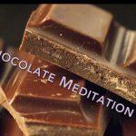 كيفية التأمل بالشوكولاتة الداكنة