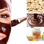 قناع الشوكولاتة والشوفان لجميع أنواع البشرة