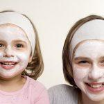 ماسكات طبيعية للعناية ببشرة الأطفال
