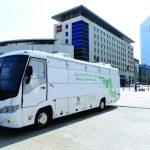 اطلاق أول مختبر متنقل ذكي في دبي
