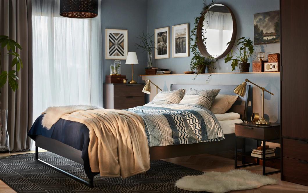 Matrimonio Bed Of Roses : مفارش سرير ايكيا المرسال