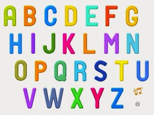 ترتيب الحروف الانجليزية المرسال