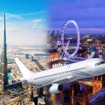 كم ساعة من دبي إلى لندن