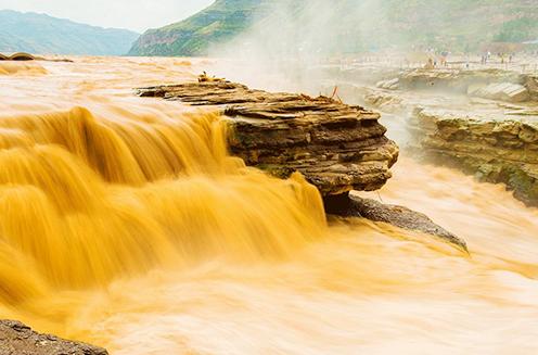 الشلال-الصيني-الاصفر