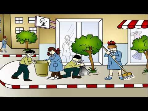 موضوع تعبير عن التعاون في تنظيف المدرسة المرسال