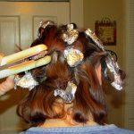 تجعيد الشعر بالقصدير