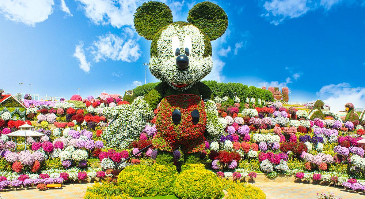 أين موقع حديقة الزهور في دبي المرسال