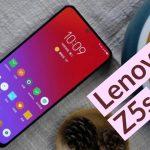 Lenovo Z5s يحصل على ثقب الكاميرا الامامية