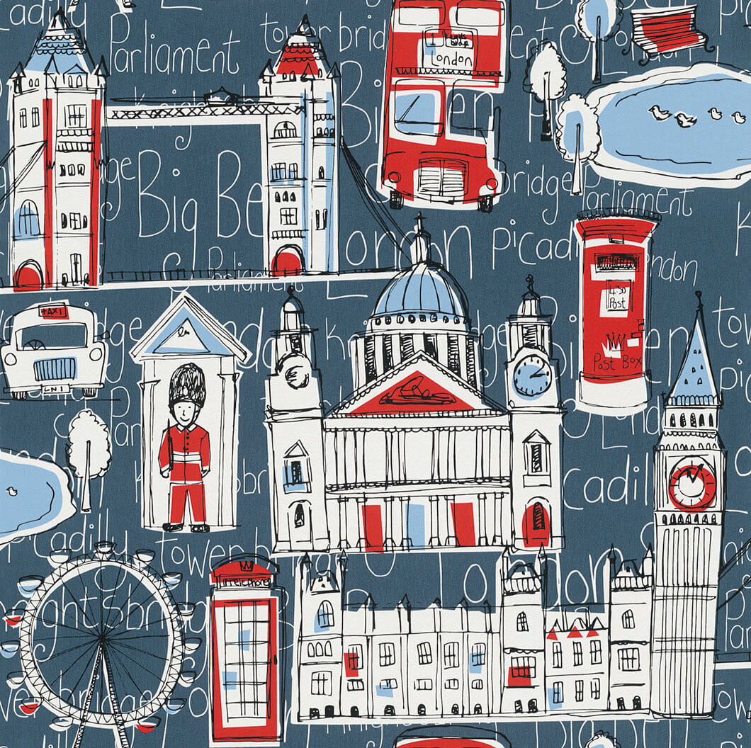 cde2c0afb ورق حائط لندن لغرفة اطفال | المرسال