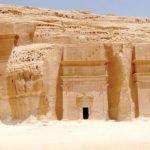 مقابر قصر البنت بمدينة العلا