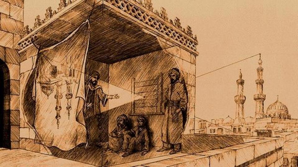 اسم عالم مسلم و اختراعه المرسال