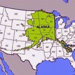 أكبر ولاية في الولايات المتحدة الأمريكية