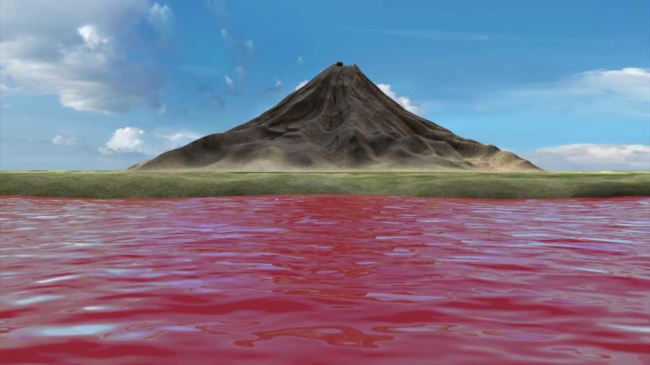 بحيرة الدماء الحمراء