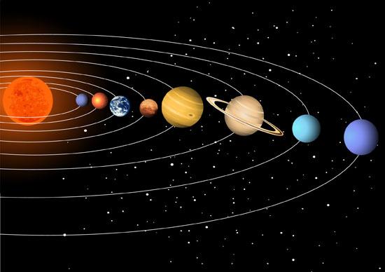كم عمر النظام الشمسي المرسال