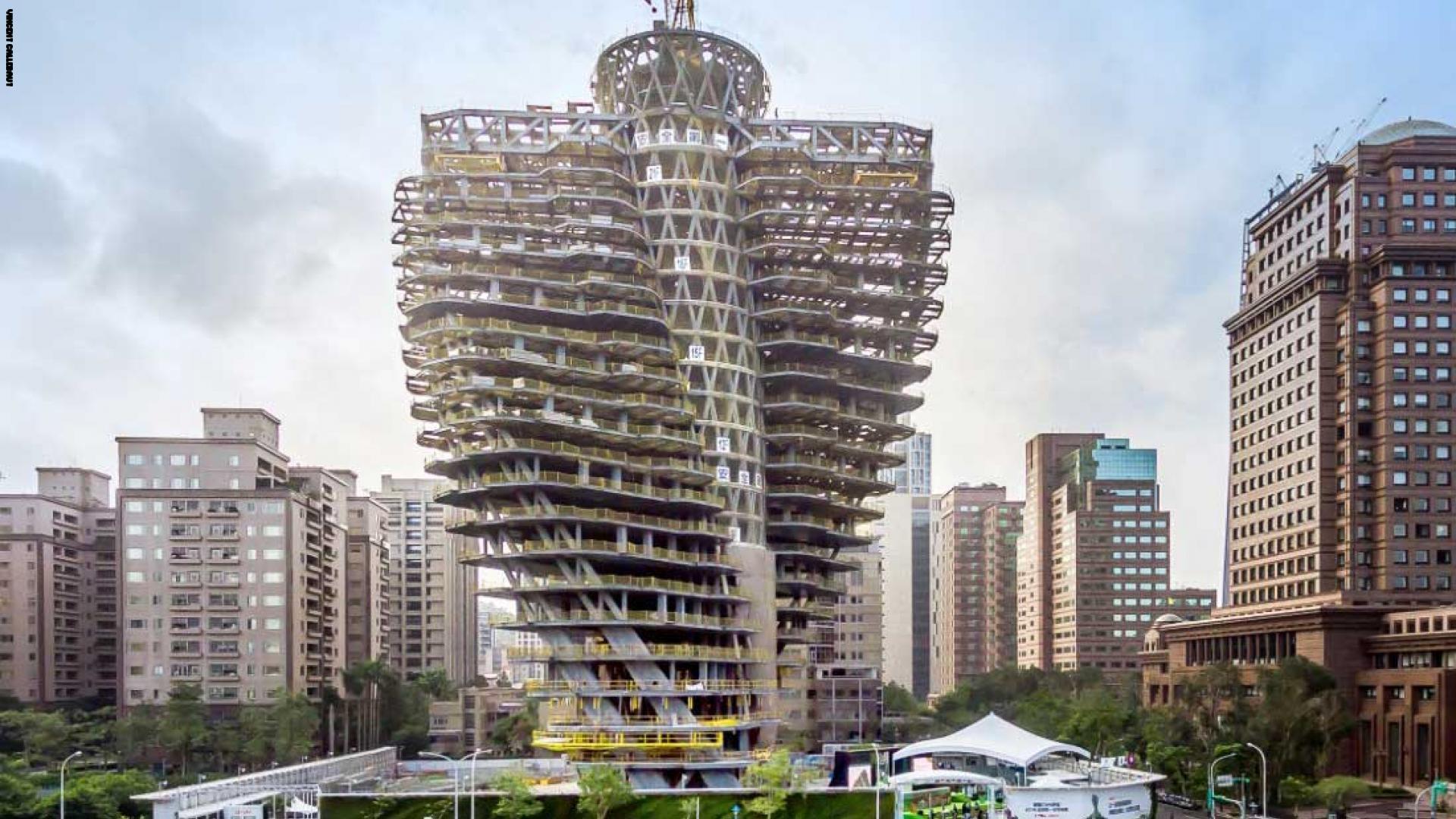 صور ناطحات سحاب ملتويه برج-تاو-تشو-يين-يوان