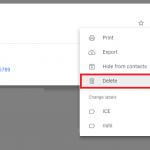 خطوات اضافة جهة اتصال جديدة في Gmail