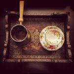 كلمات في عشق القهوة والمطر في الشتاء