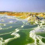 أضرار المياه الكبريتية